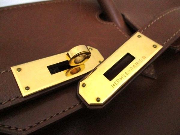 HERMES(エルメス) ハンドバッグ バーキン30 ノアゼット ゴールド金具 3