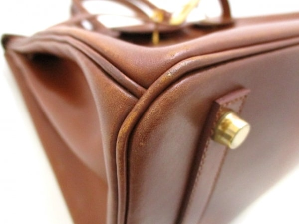 HERMES(エルメス) ハンドバッグ バーキン30 ノアゼット ゴールド金具 6