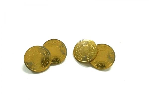 HERMES(エルメス) カフス セリエ 金属素材 ゴールド 0