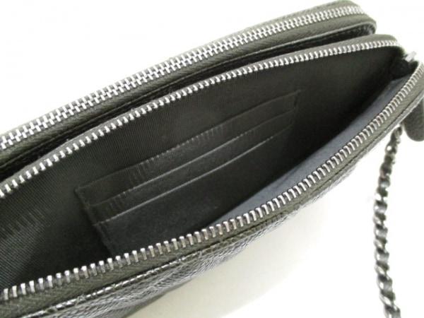 シャネル 財布美品  マトラッセ A82527 ダークグレー キャビアスキン 4