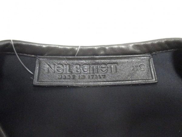 ニールバレット ベスト サイズXS メンズ新品同様  黒 レザー 3