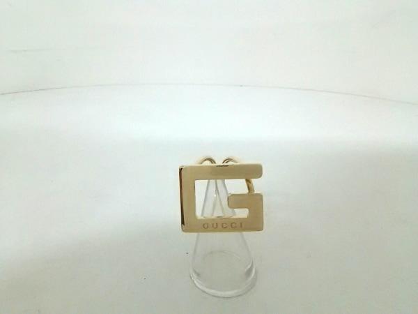 GUCCI(グッチ) スカーフリング美品  - 金属素材 ゴールド 0