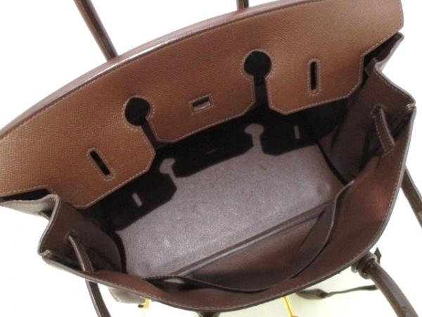 HERMES(エルメス) ハンドバッグ バーキン35 マロン ゴールド金具 2