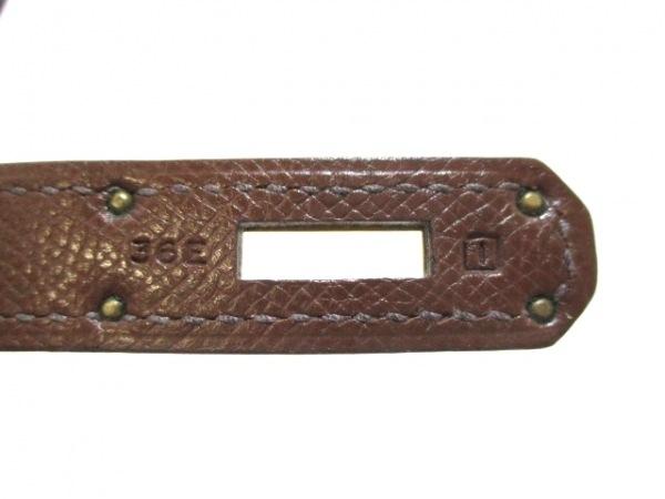 HERMES(エルメス) ハンドバッグ バーキン35 マロン ゴールド金具 4