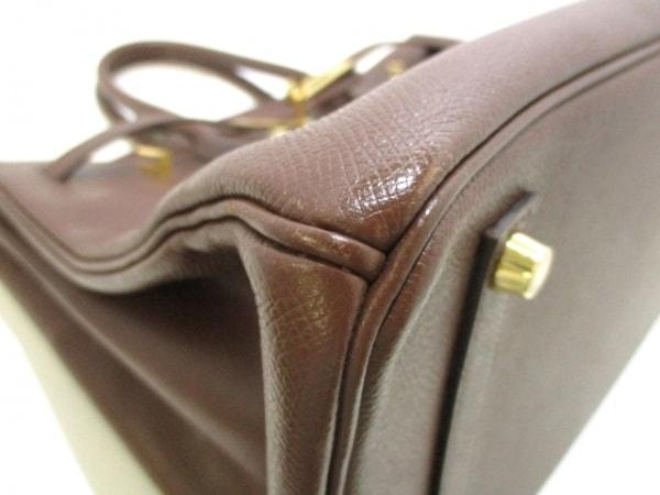HERMES(エルメス) ハンドバッグ バーキン35 マロン ゴールド金具 6