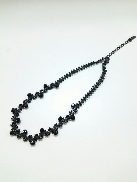 ANNA SUI(アナスイ) チョーカー美品  金属素材×ビーズ 黒 2