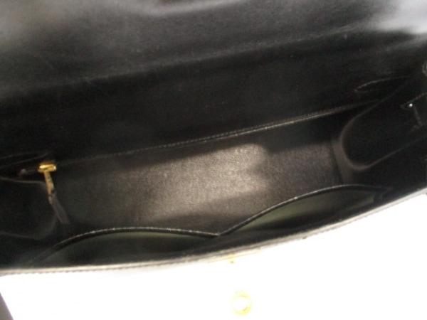 エルメス ハンドバッグ美品  ケリー32 黒 外縫い/ゴールド金具 2