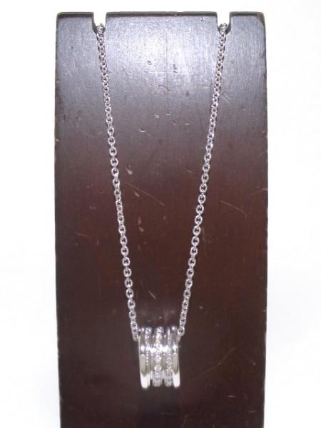 ブルガリ ネックレス美品  B-zero1 K18WG×ダイヤモンド 旧型 2