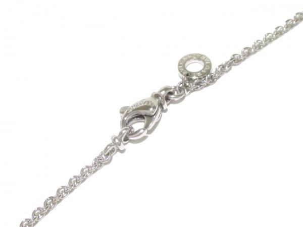 ブルガリ ネックレス美品  B-zero1 K18WG×ダイヤモンド 旧型 4