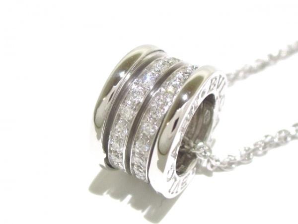 ブルガリ ネックレス美品  B-zero1 K18WG×ダイヤモンド 旧型 5