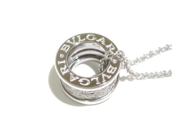 ブルガリ ネックレス美品  B-zero1 K18WG×ダイヤモンド 旧型 6