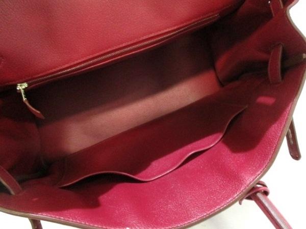 HERMES(エルメス) ハンドバッグ バーキン35 ルビー シルバー金具 2
