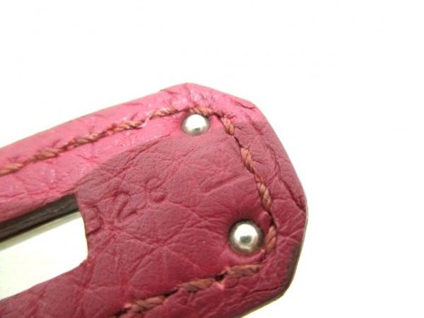 HERMES(エルメス) ハンドバッグ バーキン35 ルビー シルバー金具 4