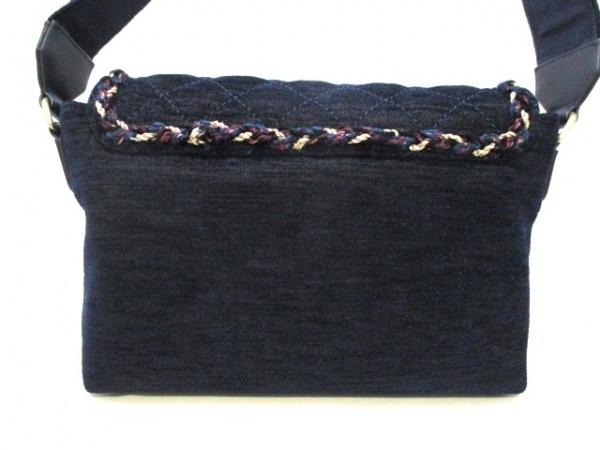 シャネル ショルダーバッグ美品  マトラッセ A91821 ネイビーブルー 3