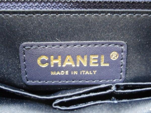 シャネル ショルダーバッグ美品  マトラッセ A91821 ネイビーブルー 6