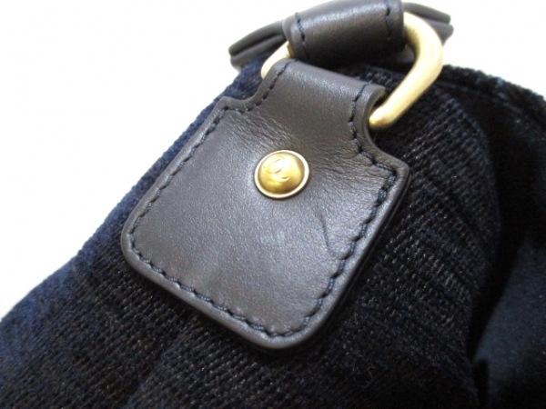 シャネル ショルダーバッグ美品  マトラッセ A91821 ネイビーブルー 8
