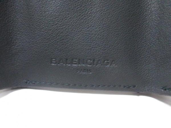 バレンシアガ 3つ折り財布 ペーパーミニウォレット 391446 レザー 5