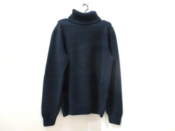 エルメス 長袖セーター サイズXL メンズ美品  ダークネイビー 0