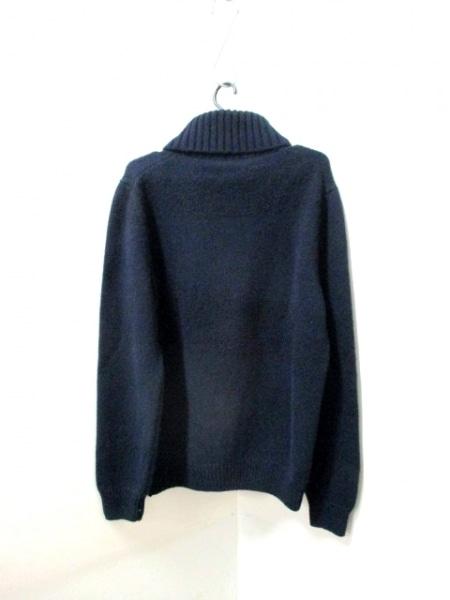 エルメス 長袖セーター サイズXL メンズ美品  ダークネイビー 2