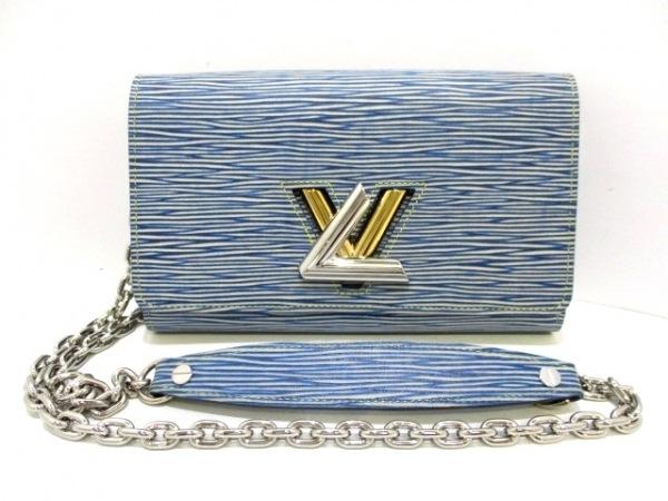 LOUIS VUITTON(ルイヴィトン) 財布 エピ・デニム美品  M61036 ブルー 0