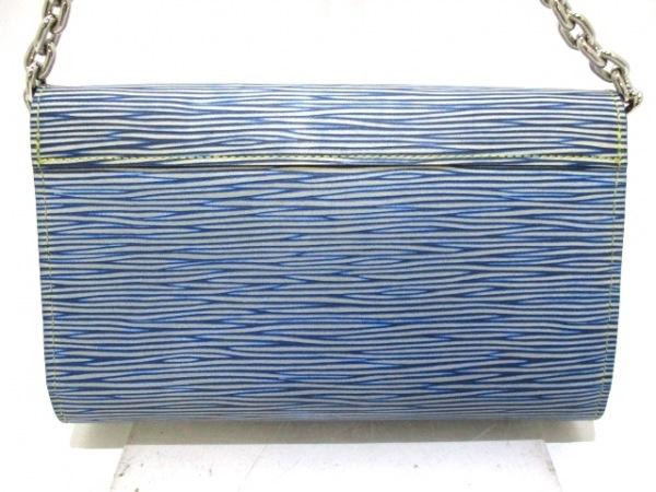 LOUIS VUITTON(ルイヴィトン) 財布 エピ・デニム美品  M61036 ブルー 2
