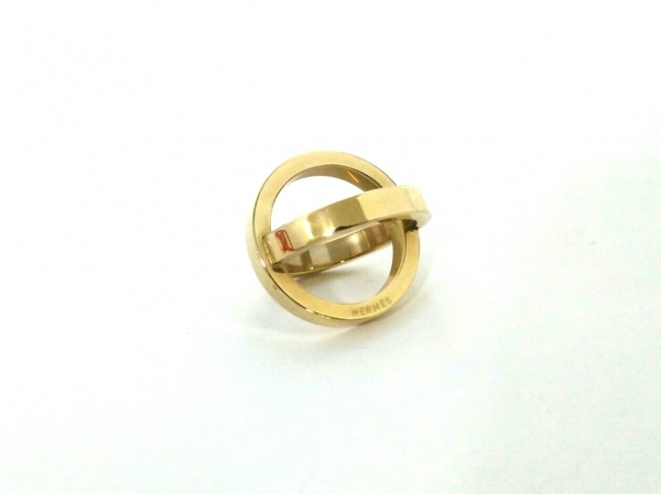 HERMES(エルメス) スカーフリング美品  コスモス 金属素材 ゴールド 0