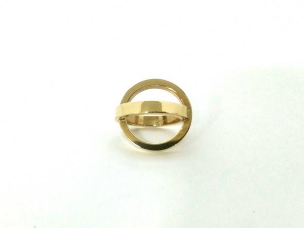 HERMES(エルメス) スカーフリング美品  コスモス 金属素材 ゴールド 2