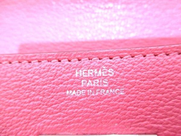 HERMES(エルメス) 長財布美品  ケリーウォレットロング ローズアザレ 5