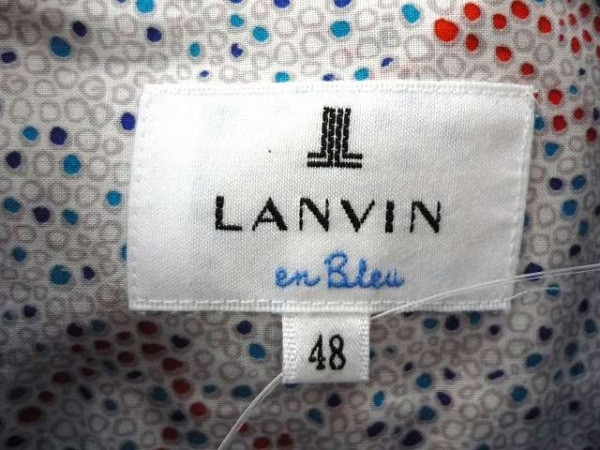 LANVIN en Bleu(ランバンオンブルー) 長袖シャツ サイズ48 XL メンズ 3