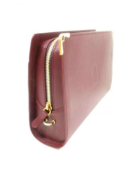 Cartier(カルティエ) セカンドバッグ マストライン ボルドー レザー 2