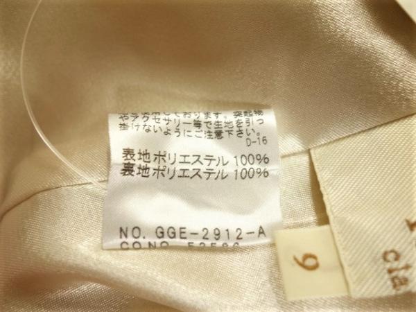 ロペ ワンピース サイズ9 M レディース美品  イエロー classe/フリル 5