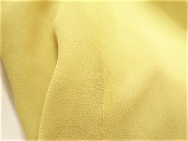 ロペ ワンピース サイズ9 M レディース美品  イエロー classe/フリル 6