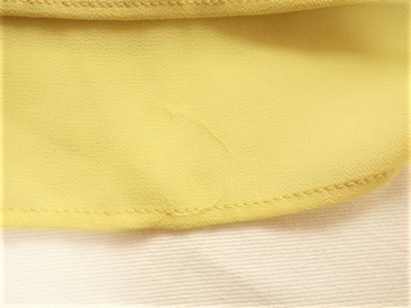 ロペ ワンピース サイズ9 M レディース美品  イエロー classe/フリル 7