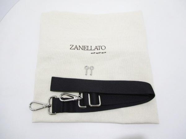 ZANELLATO(ザネラート) ビジネスバッグ 黒 レザー 8