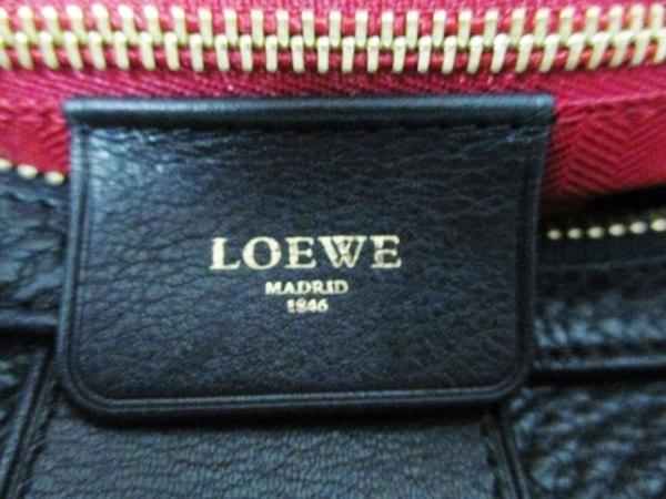 LOEWE(ロエベ) ハンドバッグ新品同様  - 黒 レザー 6