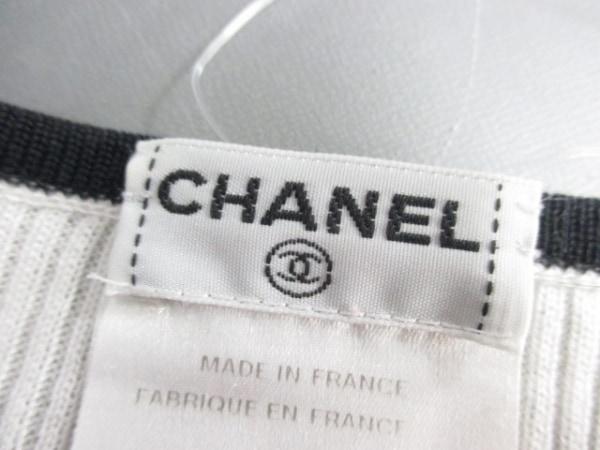 シャネル 長袖セーター サイズ44 L レディース 白×黒×マルチ 3