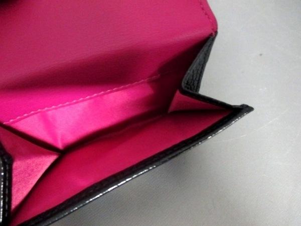 クリスチャンディオール 3つ折り財布美品  - 黒 レザー 4