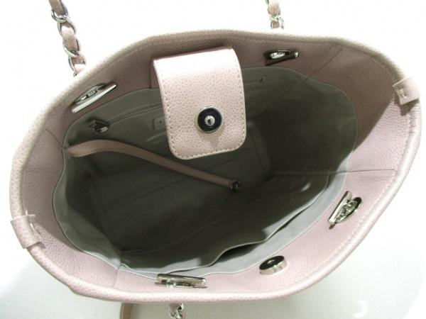 CHANEL(シャネル) トートバッグ ドーヴィルライン ピンク 5