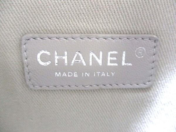 CHANEL(シャネル) トートバッグ ドーヴィルライン ピンク 6