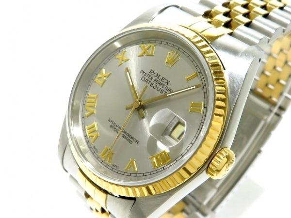 ROLEX(ロレックス) 腕時計 デイトジャスト 116233 メンズ シルバー 0