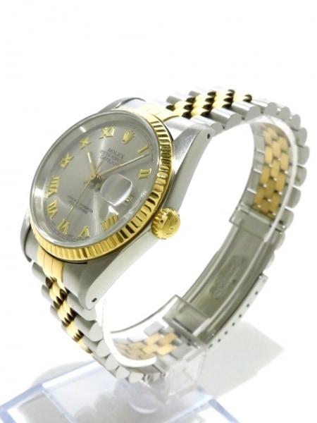 ROLEX(ロレックス) 腕時計 デイトジャスト 116233 メンズ シルバー 2
