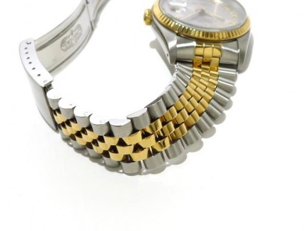 ROLEX(ロレックス) 腕時計 デイトジャスト 116233 メンズ シルバー 6