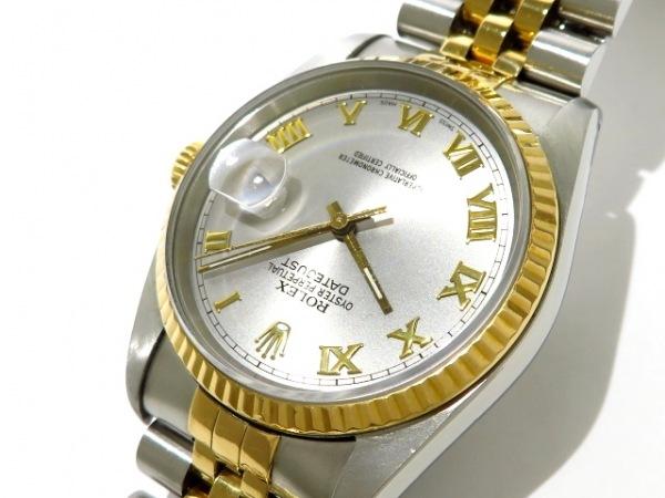 ROLEX(ロレックス) 腕時計 デイトジャスト 116233 メンズ シルバー 8