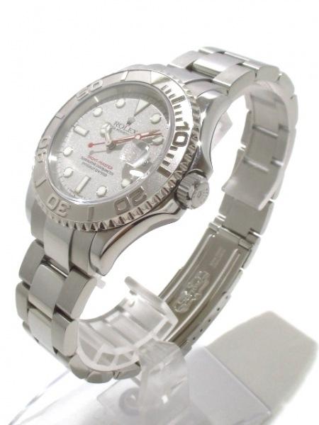ロレックス 腕時計 ヨットマスターロレジウム 16622 メンズ シルバー 2