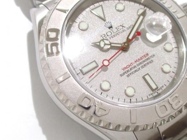 ロレックス 腕時計 ヨットマスターロレジウム 16622 メンズ シルバー 6