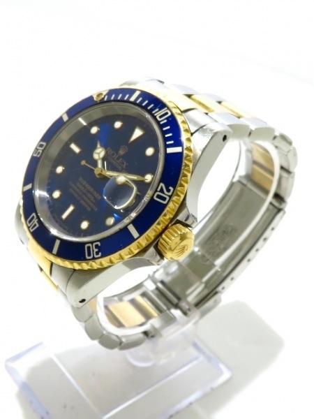 ROLEX(ロレックス) 腕時計 サブマリーナデイト 16613 メンズ ブルー 2