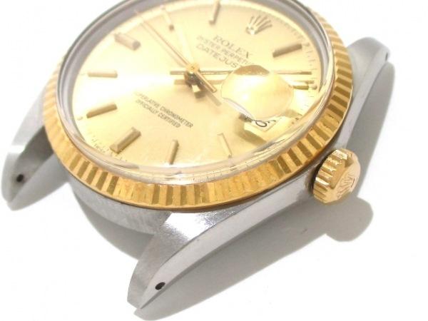 ロレックス 腕時計 デイトジャスト 16013 メンズ シャンパンゴールド 3