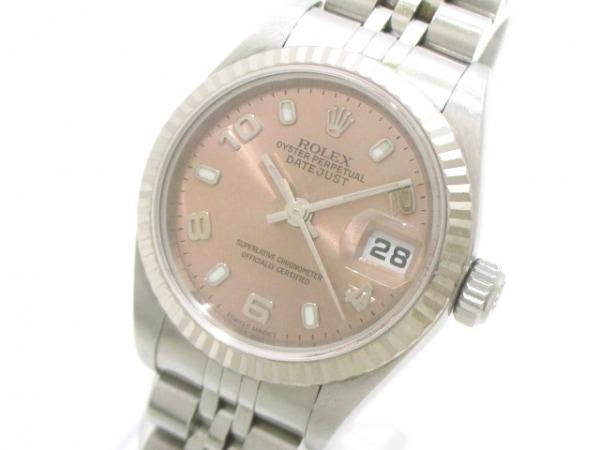 ROLEX(ロレックス) 腕時計 デイトジャスト 79174 レディース ピンク 0