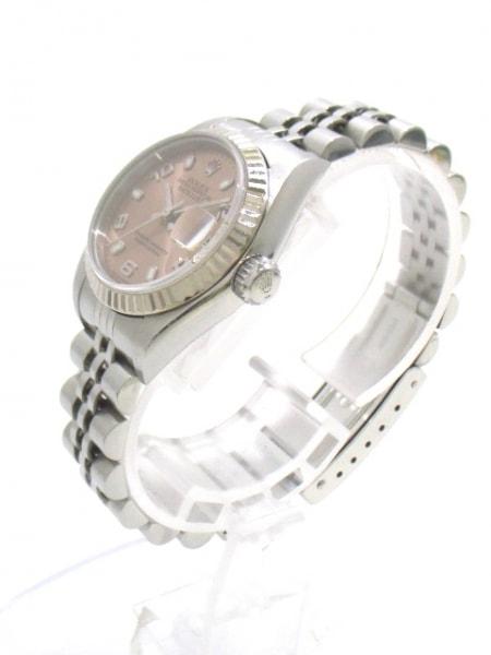 ROLEX(ロレックス) 腕時計 デイトジャスト 79174 レディース ピンク 2
