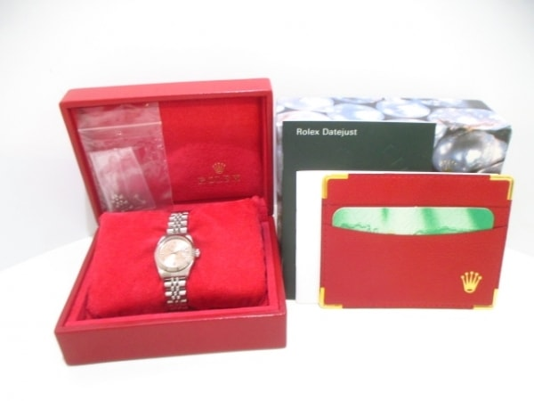 ROLEX(ロレックス) 腕時計 デイトジャスト 79174 レディース ピンク 9